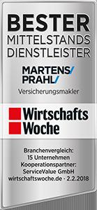 MARTENS & PRAHL Bester Mittelstandsdiensleister